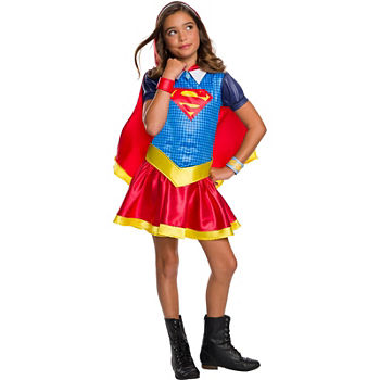 Dc Super Hero Girls Supergirl Hoodie Dress
