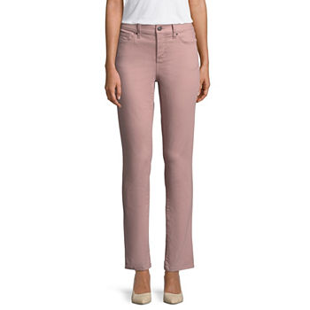 bea30b1b5e Straight Leg Pink Jeans for Women - JCPenney