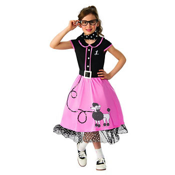 Girls 50s Sweetheart Costume Girls Costume Girls Costume
