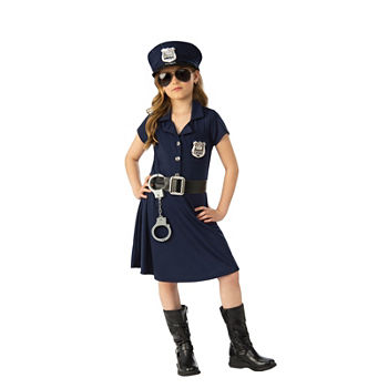 Girl Police Officer Costume Girls Costume Girls Costume