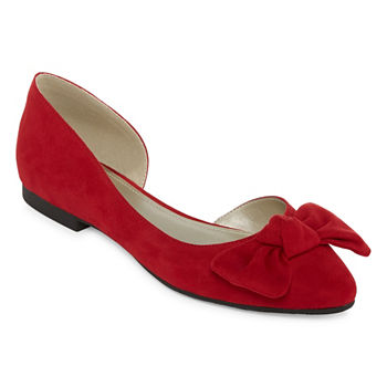 1efbb9762ed1 Red Women s Flats   Loafers for Shoes - JCPenney