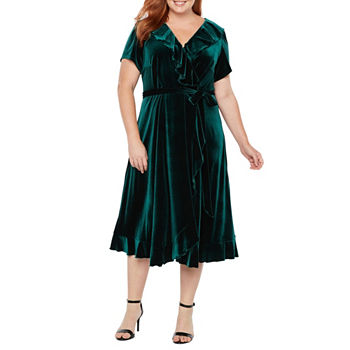 Plus Size Green Church Dresses For Women Jcpenney