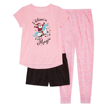 59d1f1a9725 CLEARANCE Girls Pajamas for Kids - JCPenney