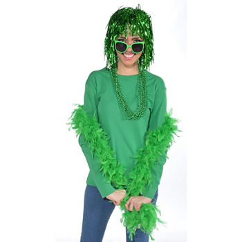 Green Boa Dress Up Accessory