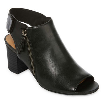 8b9d22fc9b9 Arizona Womens Oar Block Heel Zip Booties. Add To Cart. wide width available