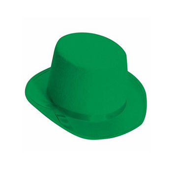Deluxe Green Top Hat Dress Up Accessory