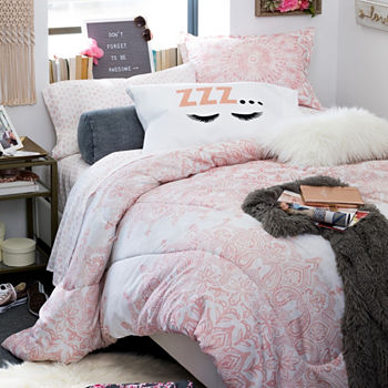 flamingo dorm teen sets king bedding grey on ideas best and pink set blush comforter bedrooms