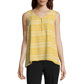 976bd51c81fdf Worthington Yellow Tops for Women - JCPenney