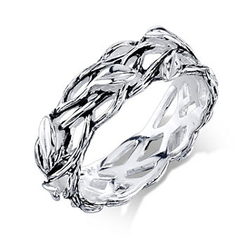 Footnotes Sterling Silver Band
