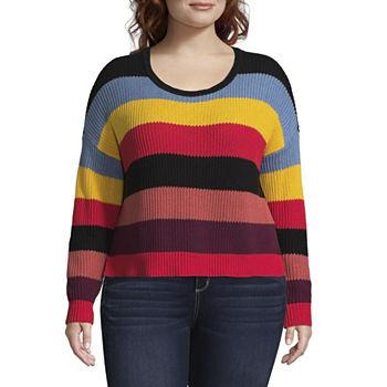 cb647af7ec183 Juniors Plus Size Sweaters   Cardigans for Juniors - JCPenney