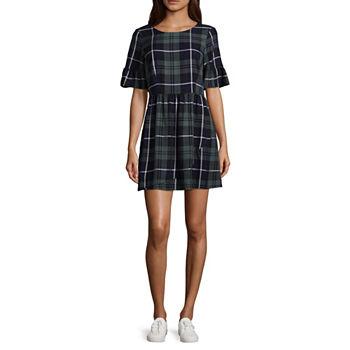 Skater Dresses Black Dresses For Juniors Jcpenney