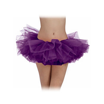 Womens Purple Tutu Dress Up Accessory