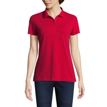 Misses Size Red Tops For Women Jcpenney