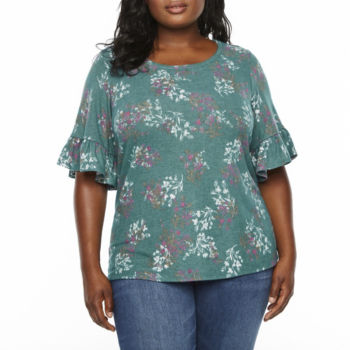 Plus Size Tops For Women Jcpenney
