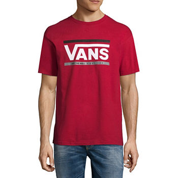 7f4c44d57a Vans Mens Crew Neck Short Sleeve T-Shirt. Add To Cart. Cardinal.  11.99