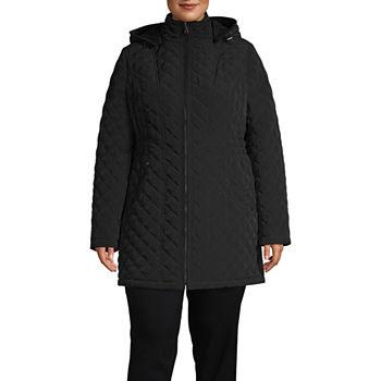 e6c954a59c362 Liz Claiborne Plus Size Coats   Jackets for Women - JCPenney
