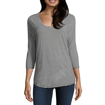 fdbf533c422 A.n.a T-shirts Tops for Women - JCPenney