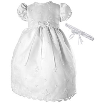 a2d842387 Christening Gowns & Outfits for Girls & Boys - JCPenney