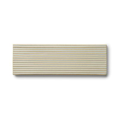 "3"" x 9"" ribbed rectangle field in blue mist"