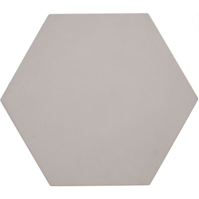 "12"" x 13-7/8"" hexagon decorative field in crème"