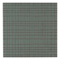 """Maven Vortex 8"""" x 8"""" field tile in Olive with black dry line"""