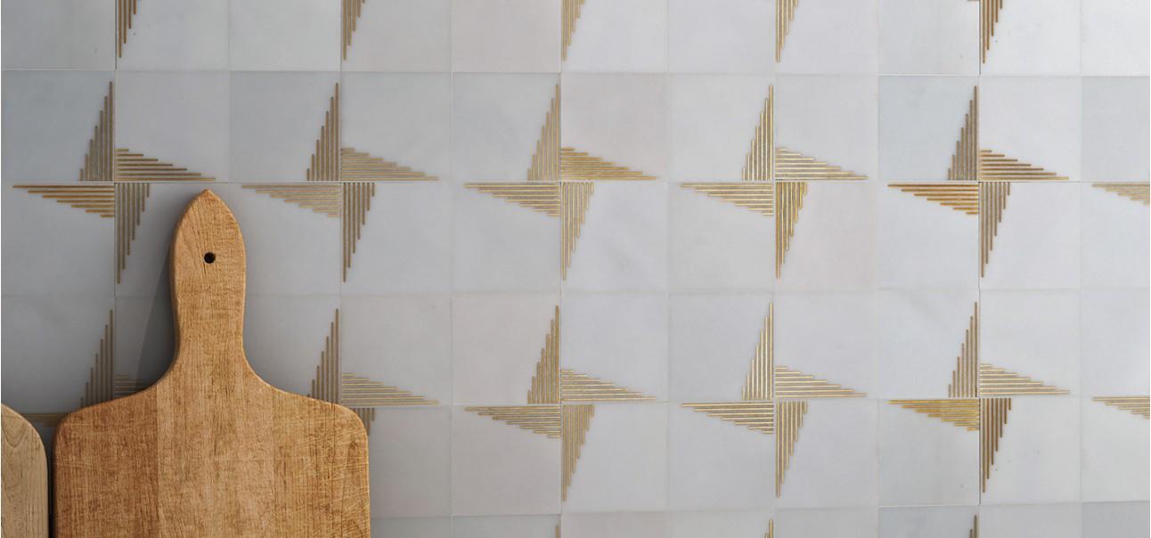 Paire Ann Sacks Tile Stone