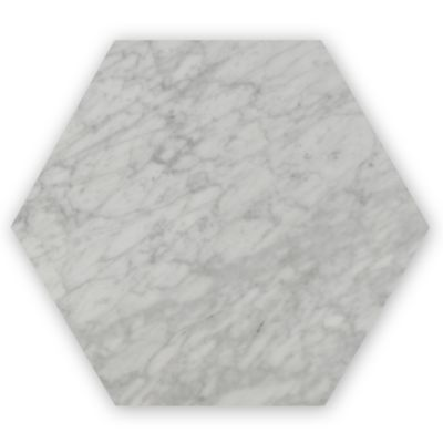 """10"""" x 10"""" hexagon in honed finish"""