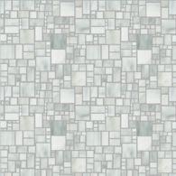small applique mosaic in rain cloud