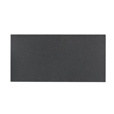 "Graphite 12"" x 24"" limestone field tile in honed finish"