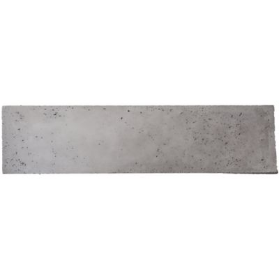 "8"" x 32"" spade in grey"