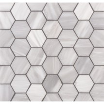 Lana 2 Hexagon Mosaic In Brushed Finish