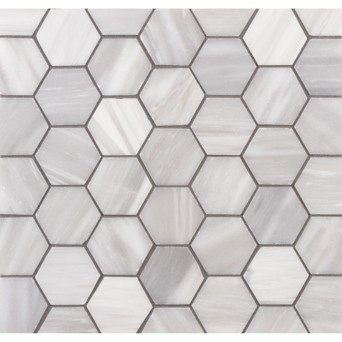 Lana 2 Hexagon Mosaic In Brushed Finish