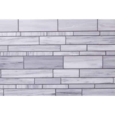 Lana Random Linear Mosaic In Brushed Finish