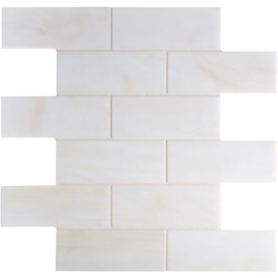 offset mosaic in cream