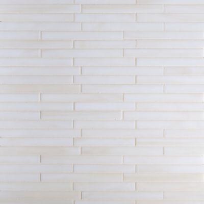 sticks mosaic in cream