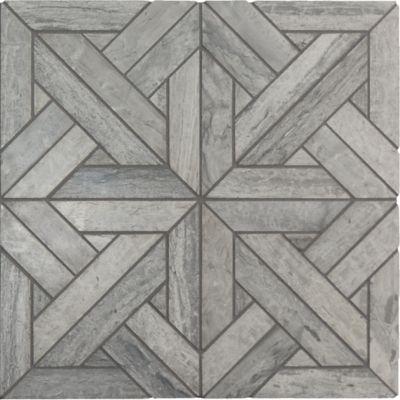 parquet mosaic in honed finish
