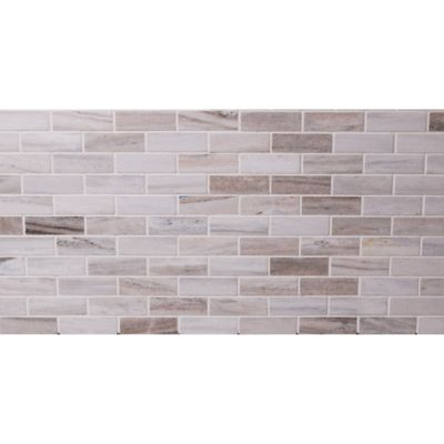 "Orrizonte 1"" x 3"" staggered mosaic in polished finish"