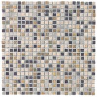 Prescott Rubik mosaic in  Gray/Noce mixed
