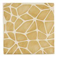 """Tiempo Rocher 4.625"""" x 4.625"""" field tile in Caramelo"""