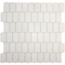 White thassos ann sacks tile stone hive mosaic in honed finish white thassos hive tyukafo