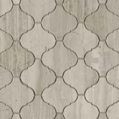 "2"" arabesque mosaic in honed finish"