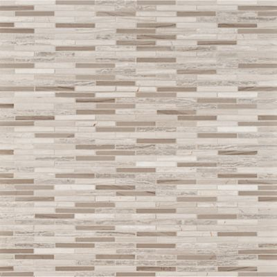 weave mosaic in honed finish