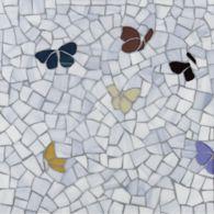 Azure Butterfly Mosaic