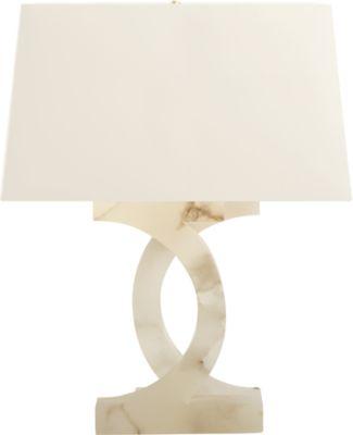 Alabaster Concentric Circles Lamp By Thomas Pheasant   PH206 | Baker  Furniture