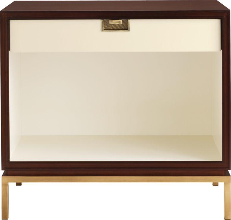 Mondrian Furniture mondrian night tablethomas pheasant - 7882 | baker furniture