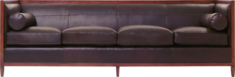 archetype furniture. archetype wood banded sofa by baker classics upholstery 637098 furniture l