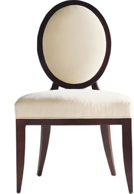 Oval X Back Dining Side Chair By Barbara Barry   3440 | Baker Furniture