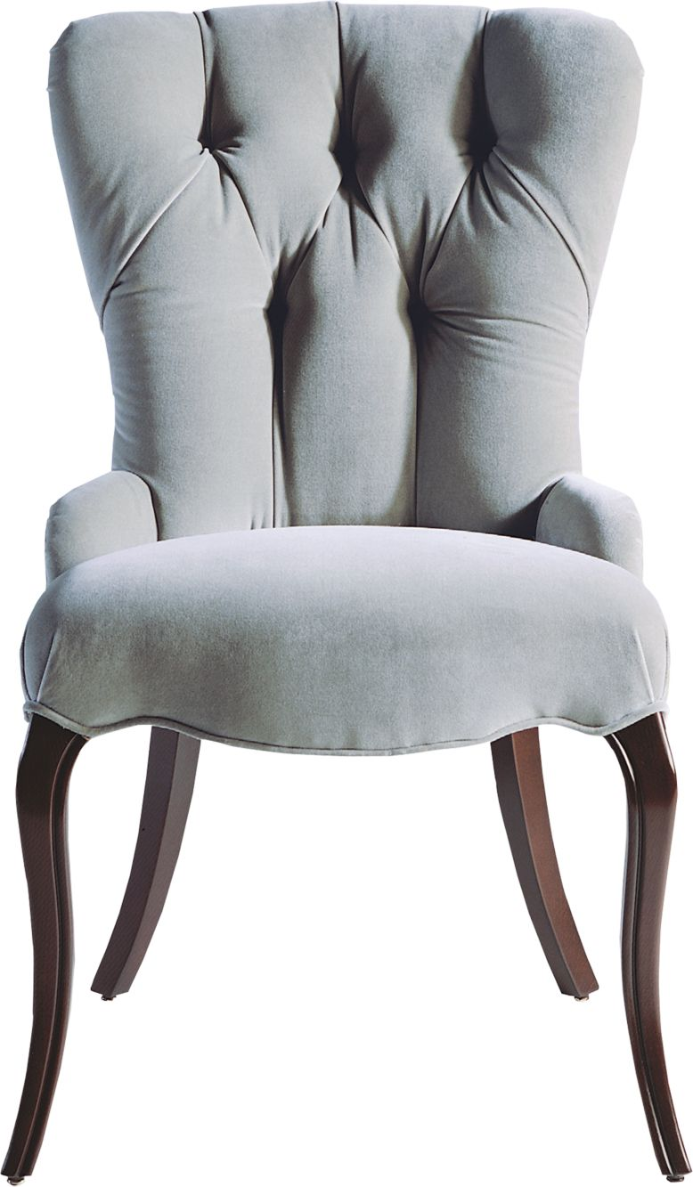 Tufted Chair By Barbara Barry Baker Furniture - Barbara barry dining table parsons