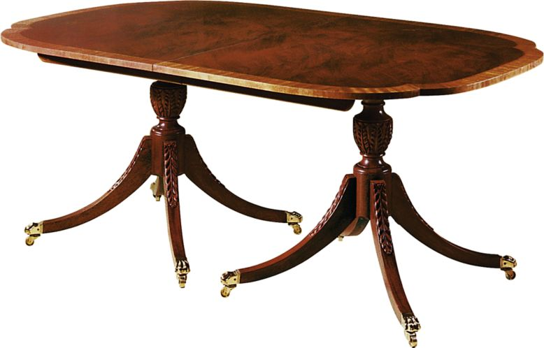 baker dining room table and chairs dining table by historic charleston 2539 baker furniture 8856