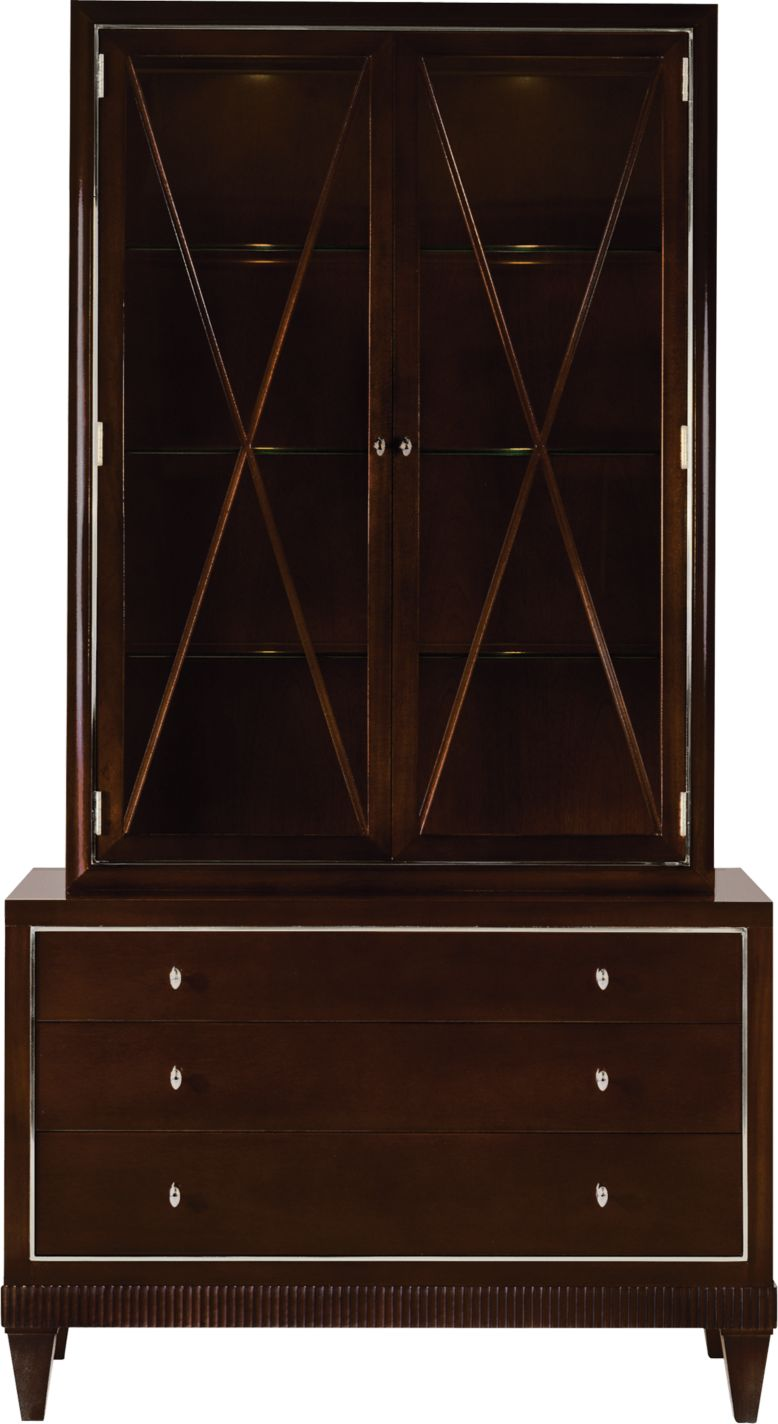 Barbara Barry Cabinet Glass Front Cabinet By Barbara Barry 3431 Baker Furniture